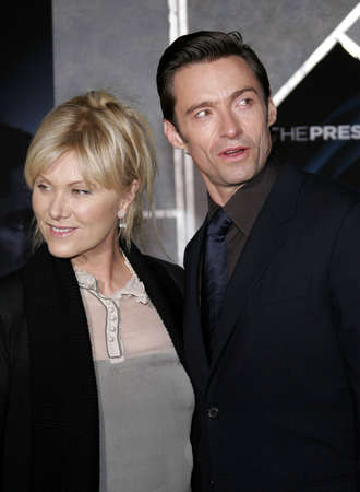 Hugh Jackman at the World premiere of 'The Prestige' held at the El Capitan Theatre in Hollywood, USA on October 17, 2006.