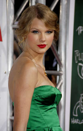 Taylor Swift at the Los Angeles premiere of Easy A held at the Grauman's Chinese Theater in Hollywood, USA on September 13, 2010.