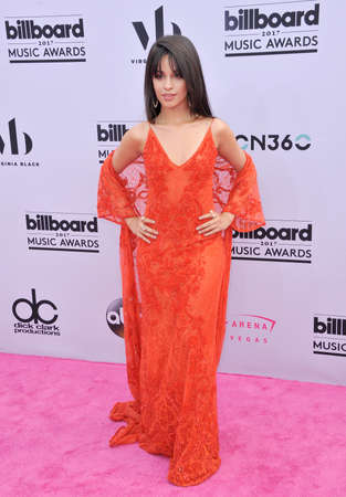 Camila Cabello of Fifth Harmony at the 2017 Billboard Music Awards held at the T-Mobile Arena in Las Vegas, USA on May 21, 2017.