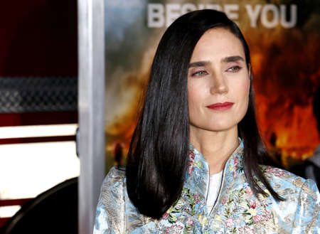 Jennifer Connelly at the Los Angeles premiere of 'Only The Brave' held at the Regency Village Theatre in Westwood, USA on October 8, 2017.