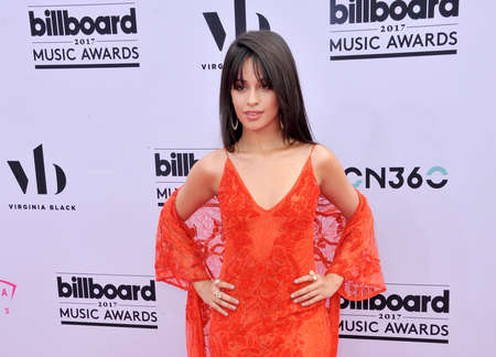 Camila Cabello at the 2017 Billboard Music Awards held at the T-Mobile Arena in Las Vegas, USA on May 21, 2017.