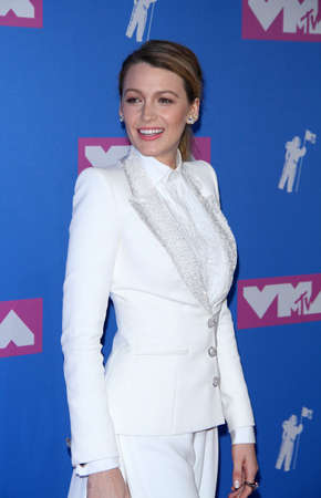 Blake Lively at the 2018 MTV Video Music Awards held at the Radio City Music Hall in New York, USA on August 20, 2018.
