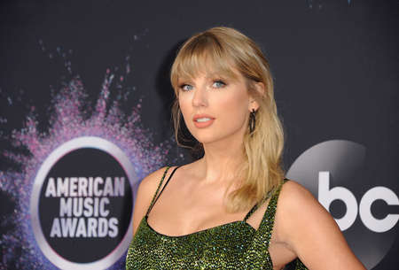 Taylor Swift at the 2019 American Music Awards held at the Microsoft Theater in Los Angeles, USA on November 24, 2019.