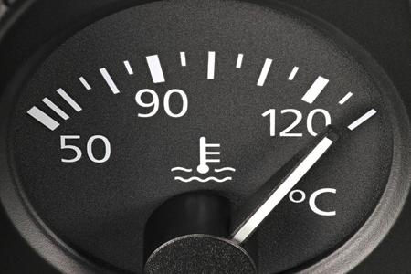temperature gauge - hot