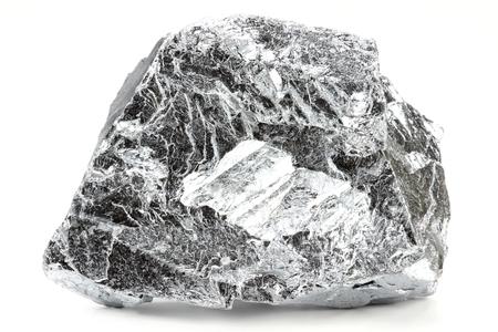 chromium isolated on white background