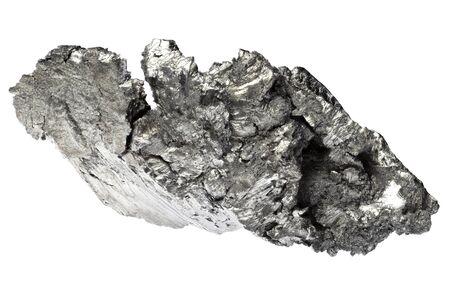 Photo pour 99.95% fine lutetium isolated on white background - image libre de droit