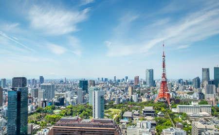 Foto de Tokyo tower, landmark of Japan - Imagen libre de derechos