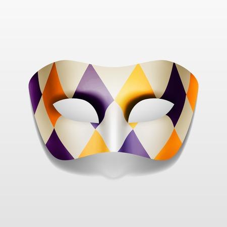 Illustration pour Vector Carnival Masquerade Party Mask Isolated - image libre de droit