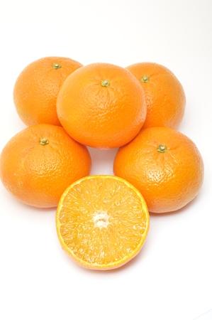 Photo pour Many clementines - image libre de droit