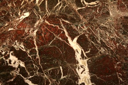 Red Marble Texture With White Lines