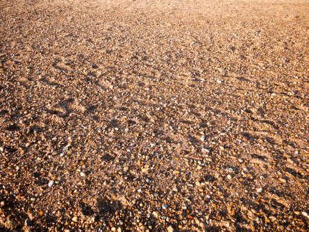 Beach floor background texture stones cobbles various wet sun