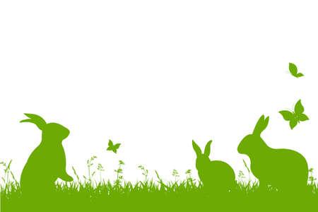Ilustración de Easter Border - Imagen libre de derechos