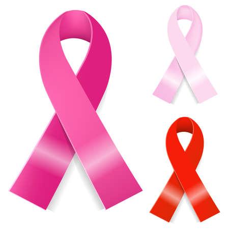 Illustration pour Breast Cancer Ribbon - image libre de droit