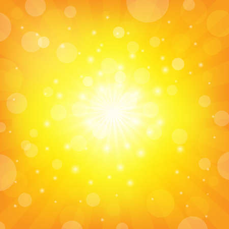 Illustration for Sunburst Background - Royalty Free Image