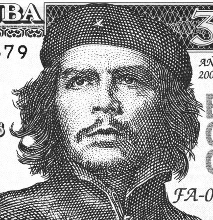 Ernesto Che Guevara on 3 Pesos 2004 Banknote from Cuba. An inspiration for every human being who loves freedom.