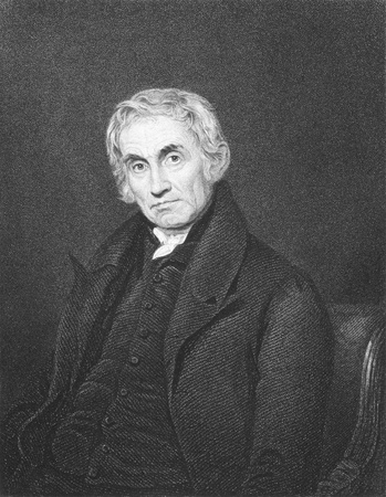 Samuel Drew (1765-1833) on engraving from the 1800s.
