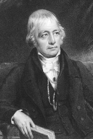 Sir Walter Scott, 1st Baronet (1771-1832) on engraving from 1832. Scottish historical novelist, playwright, and poet. Engraved by J.Thomson after a painting by J.Graham and published by Fisher, Son Co London.
