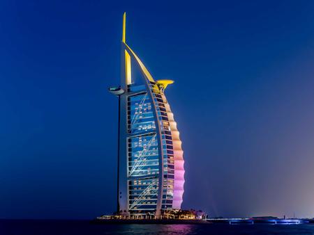 Dubai, UAE - May 31, 2013: The Burj El Arab hotel