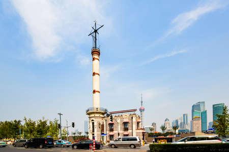 Signals on the Bund Shanghai