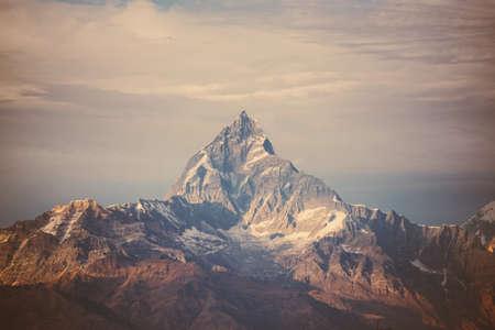 Photo pour filter Himalaya mountains. - image libre de droit