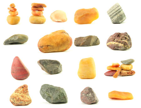 beautiful stones from the desert of Sinkiang,  China