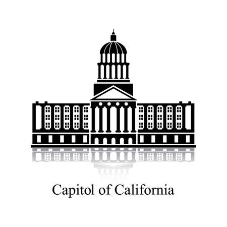 Foto de Capitol of california - Imagen libre de derechos