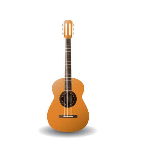 Illustration pour acoustic guitar - image libre de droit