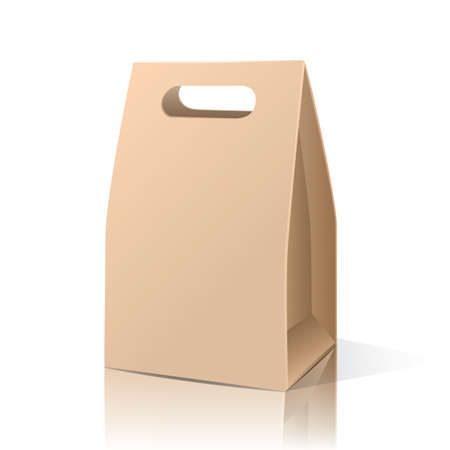Ilustración de brown paper bag - Imagen libre de derechos