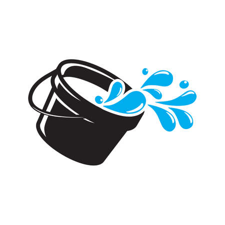 Illustration for water bucket - Royalty Free Image