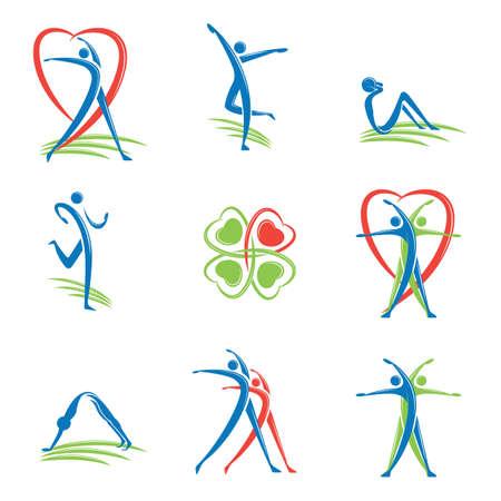 Foto de fitness logo - Imagen libre de derechos