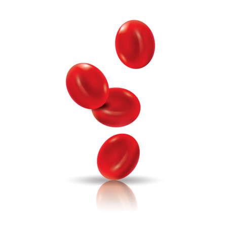 Illustration pour red blood cells - image libre de droit
