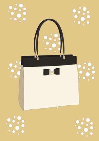 Illustration pour handbag - image libre de droit