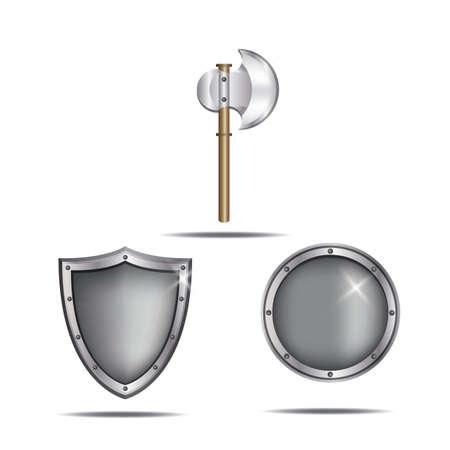 Illustration pour ancient weapons - image libre de droit