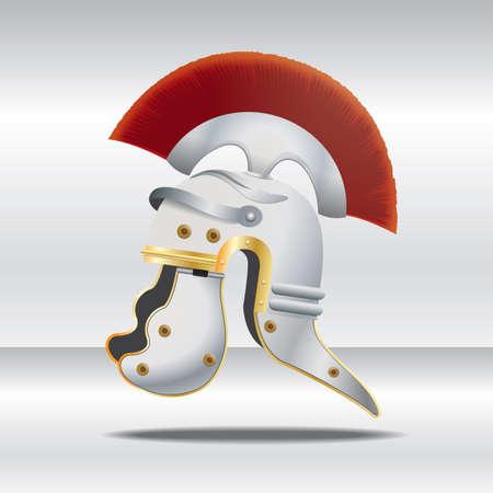 Illustration pour knight helmet - image libre de droit