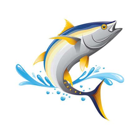Vektor für Tuna fish - Lizenzfreies Bild