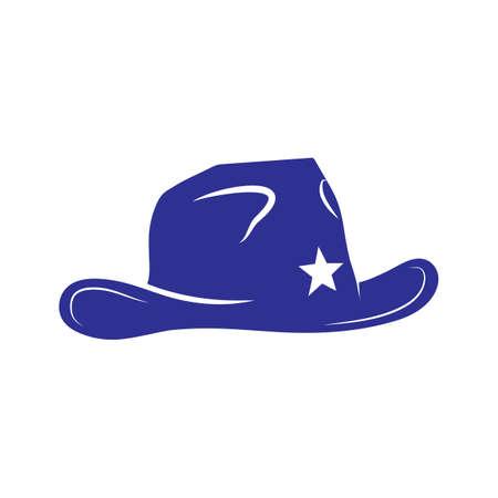 Illustration for cowboy hat - Royalty Free Image
