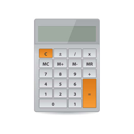 Illustration for calculator - Royalty Free Image