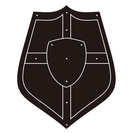 Illustration pour shield - image libre de droit