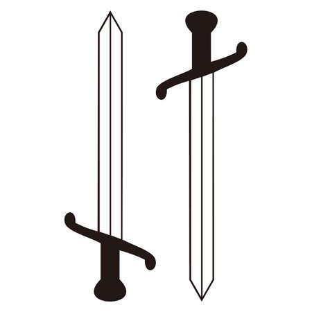 Illustration pour sword - image libre de droit