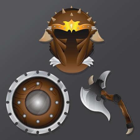 Illustration pour knight icons - image libre de droit