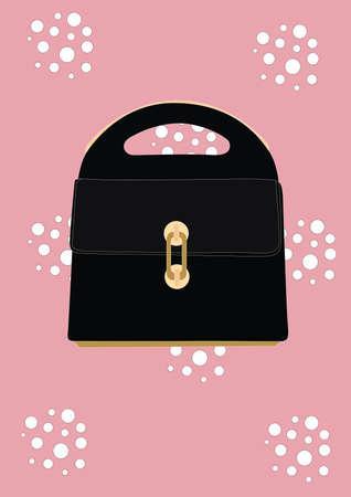 Illustration pour clutch bag - image libre de droit