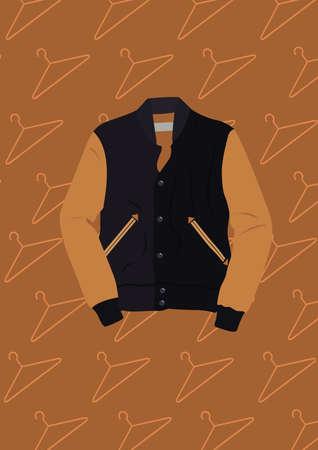 Illustration pour jacket - image libre de droit