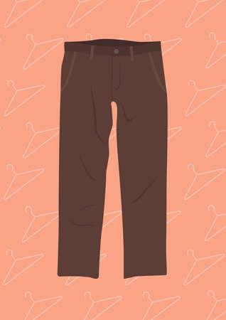 Illustration pour pants - image libre de droit