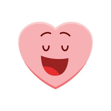 heart character feeling pleased