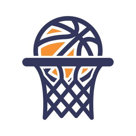 Ilustración de Basketball hoop icon - Imagen libre de derechos