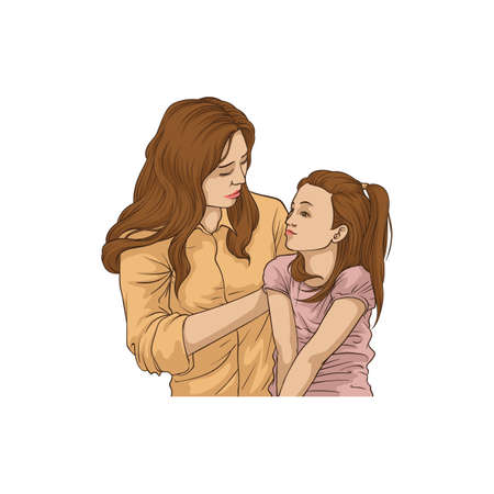 Mother and daughter design