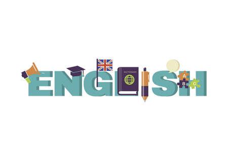 english lettering design