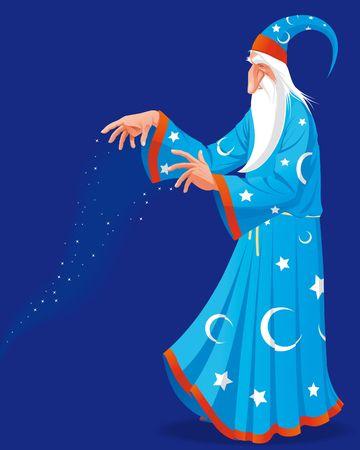 Wizard Making Magic