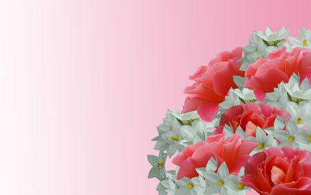 Foto per Bouquet di rose - Immagine Royalty Free