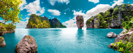 Photo pour Scenery Thailand sea and island .Adventures and travel concept - image libre de droit